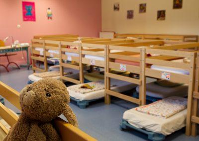 Maternelle - Salle de sieste